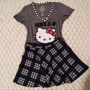 Forever 21 Plaid Skater Skirt